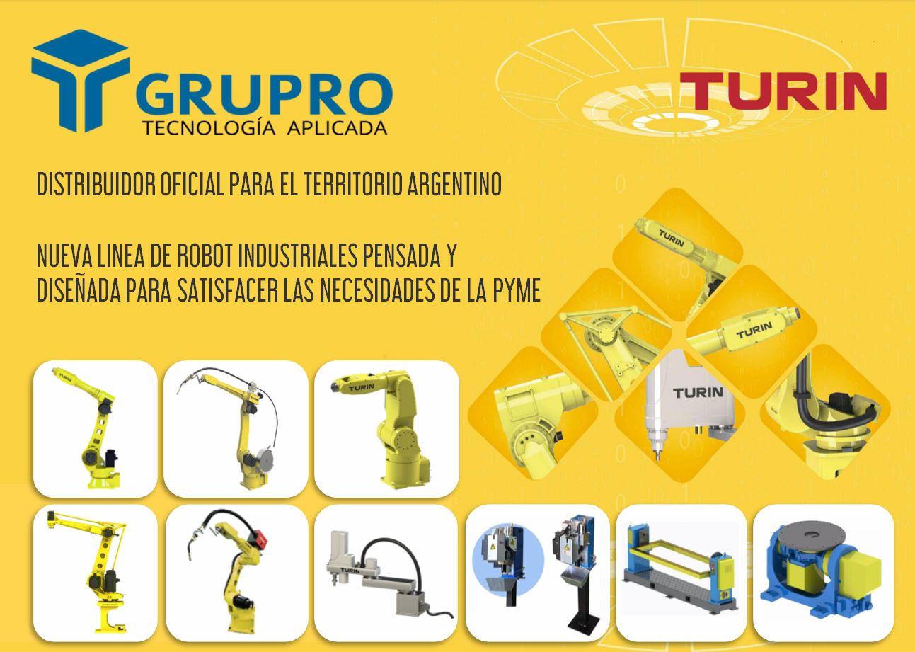 Robots industriales para automatización