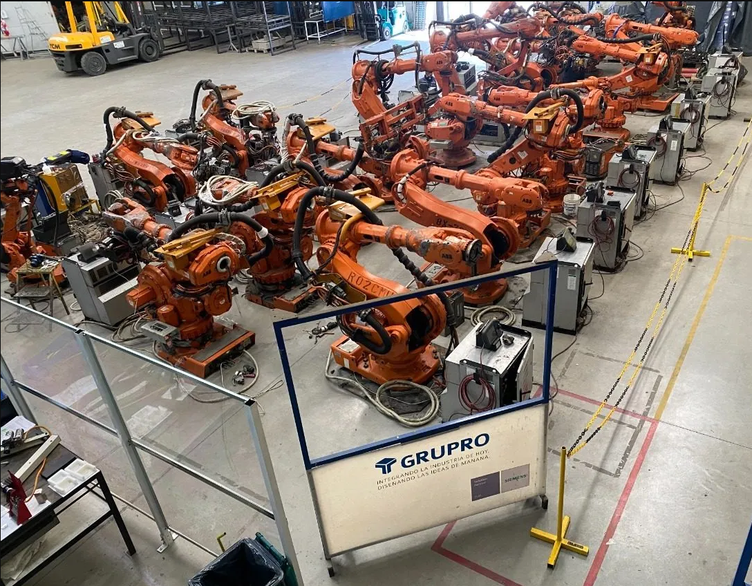 OFERTA – Venta de Robots ABB IRB 6600 usados
